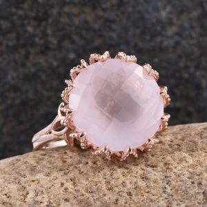 Galilea Rose Quartz Ring