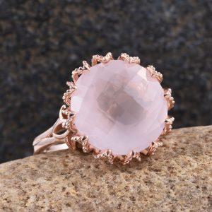 Galilea Rose Quartz Ring