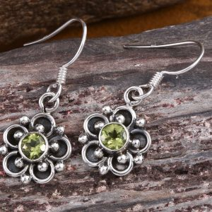 Hebei Peridot Earrings