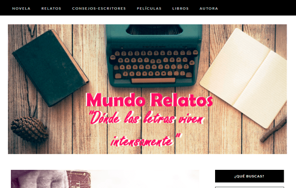 Blogs literarios: Mundo Relatos