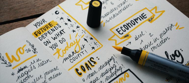Por qué usar un BuJo es importante para tu escritura