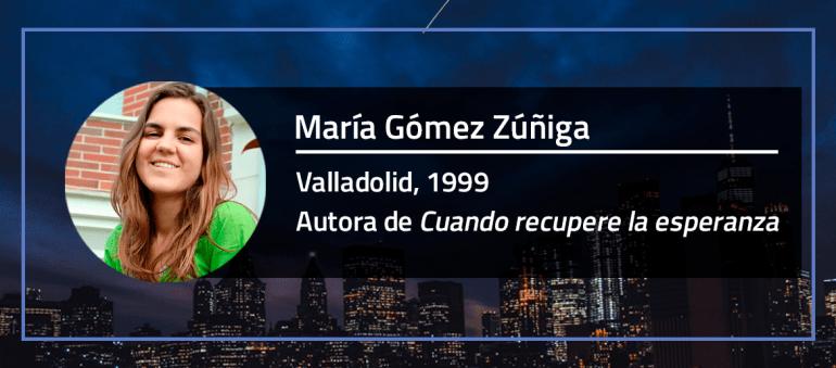 Entrevistamos a María Gómez Zúñiga
