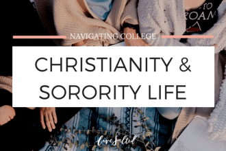 christianity and sorority feature