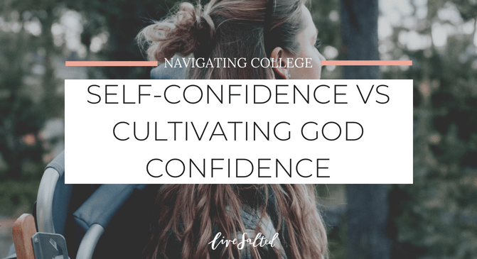 SELF CONFIDENCE VS GOD CONFIDENCE