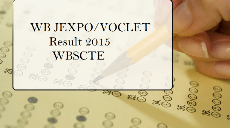 WB JEXPO VOCLET Result 2015 WBSCTE