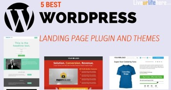 5 Best WordPress landing page plugin and themes