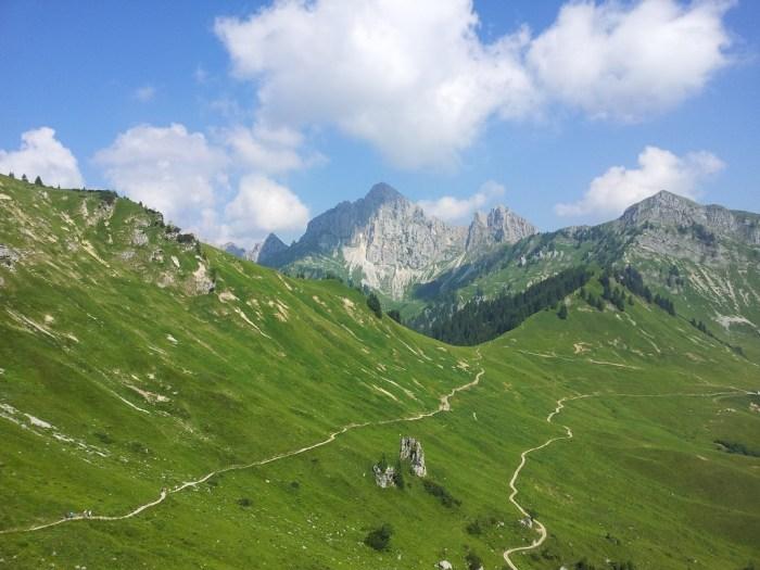 Hahnenkamm bei Reutte Tirol
