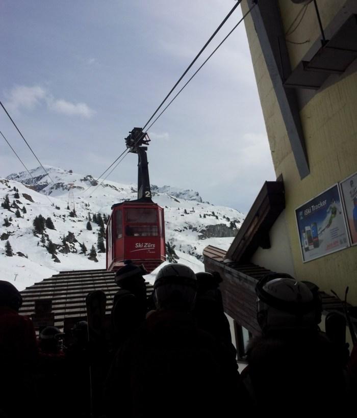 Die nostalgische Trittkopfbahn in Zürs am Arlberg