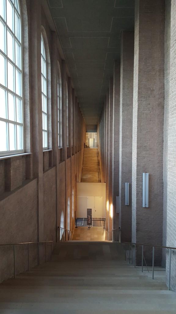 Treppe Alte Pinakothek in München