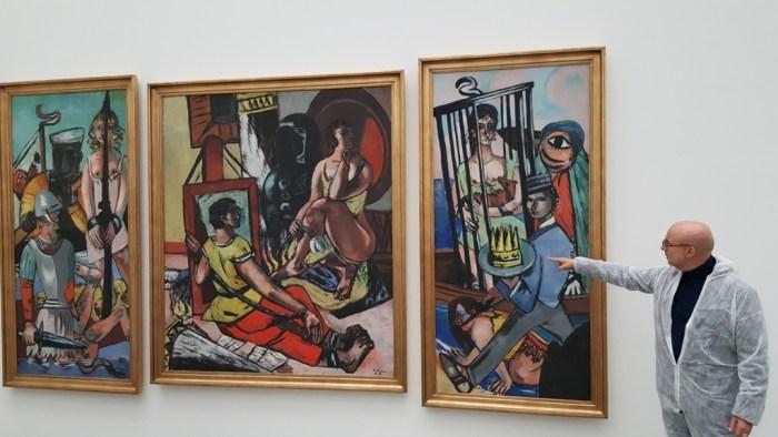 Triptychon von Beckmann, Anregung in der dritten Projektphase
