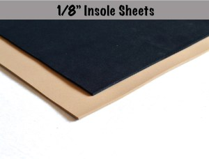 "1-8"" Insole Sheets"