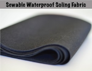 Sewable Waterproof Soling Fabric