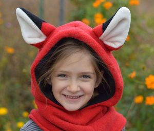 Fleece Animal Hoodie Sewing Pattern by Living DIY Style