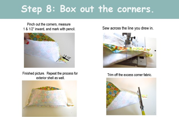 Box out the corners