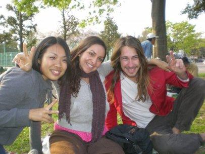 Asami, Ophilia and I