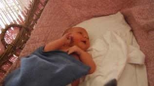 Elodie sleeping