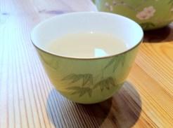 a delicate jasmine tea