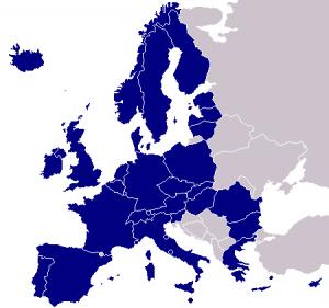 Países del área SEPA