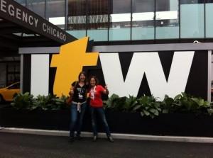 Parte del equipo de interconexión en la ITW en Chicago