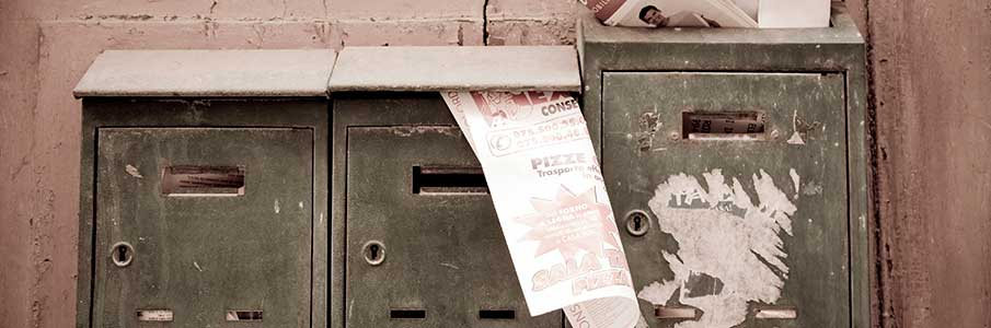 Forget letter boxes, online contracts are up