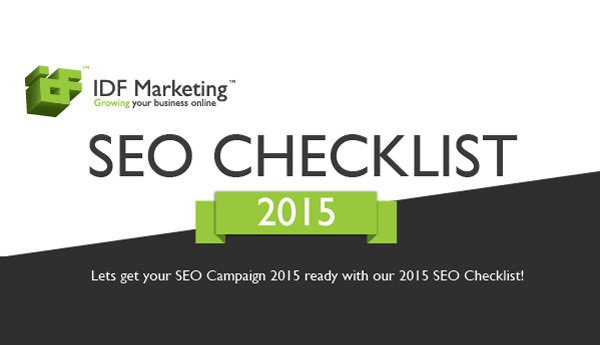 Search Engine Optimization Checklist 2015