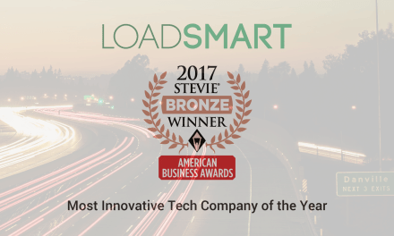 Loadsmart Honored As 2017 Stevie Award Winner