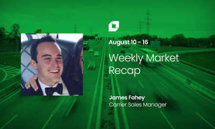 Loadsmart First Look Weekly Market Recap for Aug 10 – Aug 16