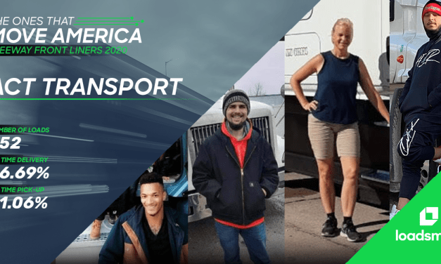 Loadsmart's 2020 Freeway Front Liners: ACT Transport