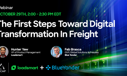 The First Steps Toward Digital Transformation In Freight