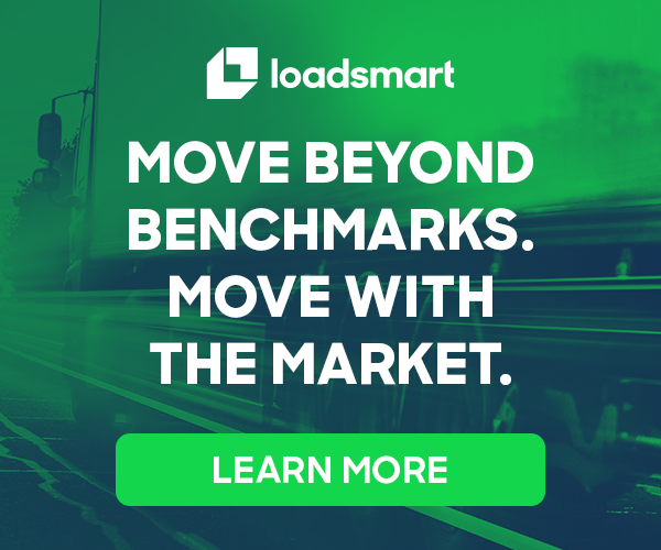 Loadsmart –Move beyond Benchmarks. Move with the Market. Learn more here.