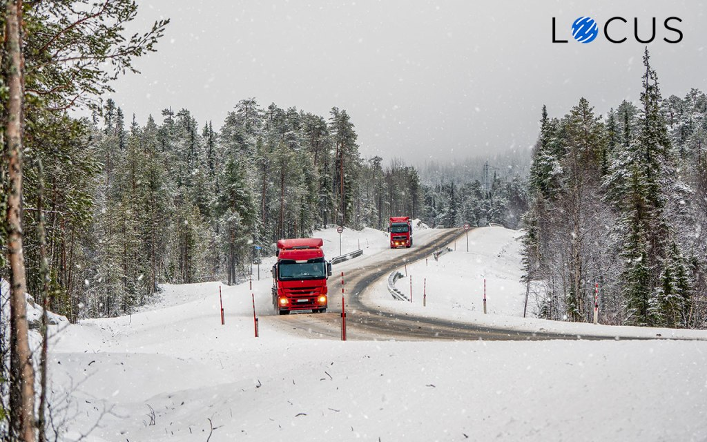 Impact of logistics breakdown on supply chain during the winter season