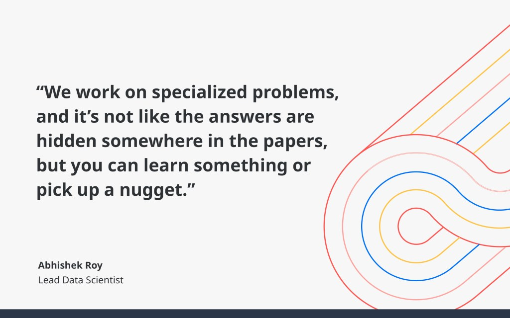 Learn something or pick up a nugget, by Abhishek Roy