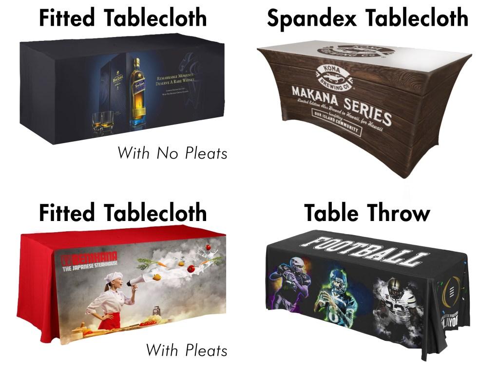 4 tablecloths