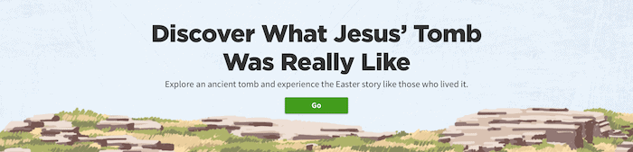 Easter Tomb | Footer