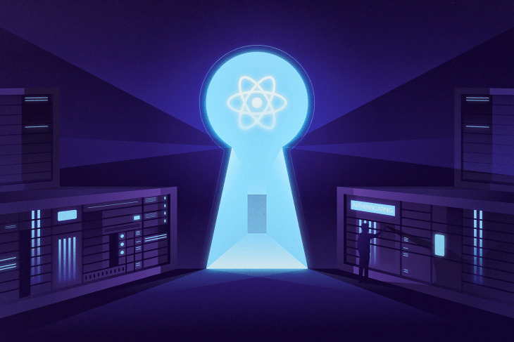 Securing a React app with a basic server-side authentication