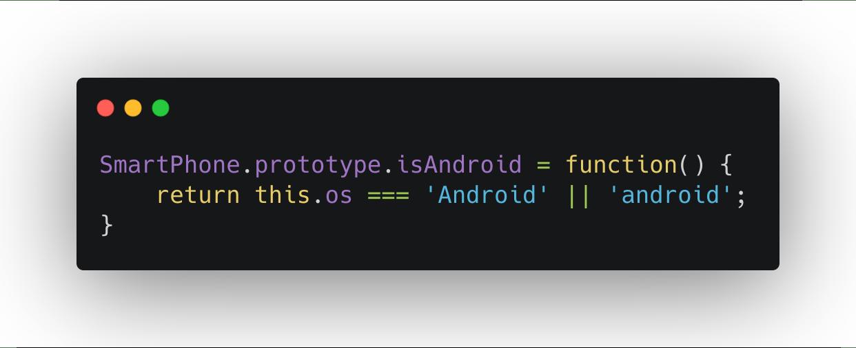 const prototype