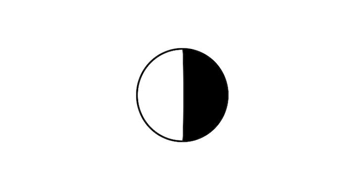 Yin-Yang Symbol Background Built With Pure CSS