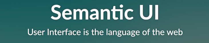 Semantic UI banner