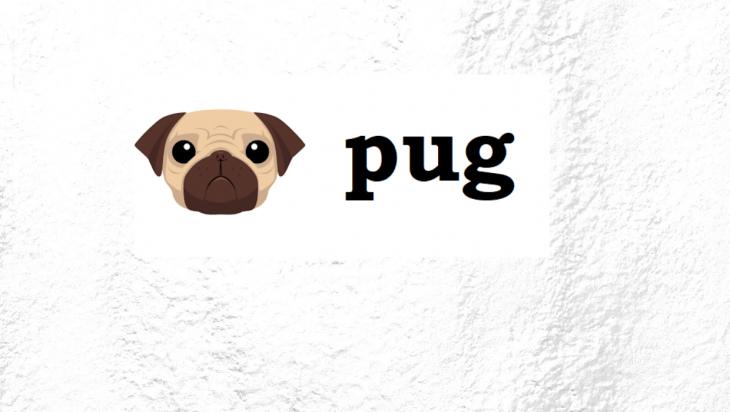 The Pug logo.