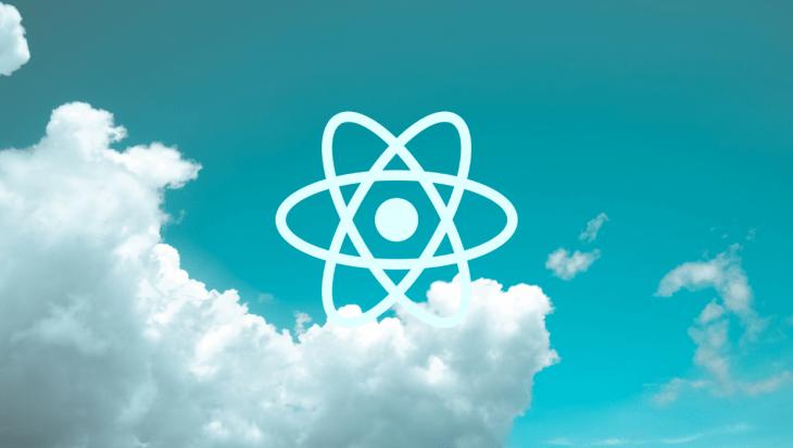 React Native logo.