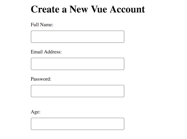 Simple Form Example
