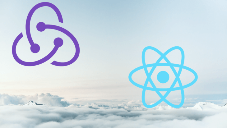 The Redux and React logos.