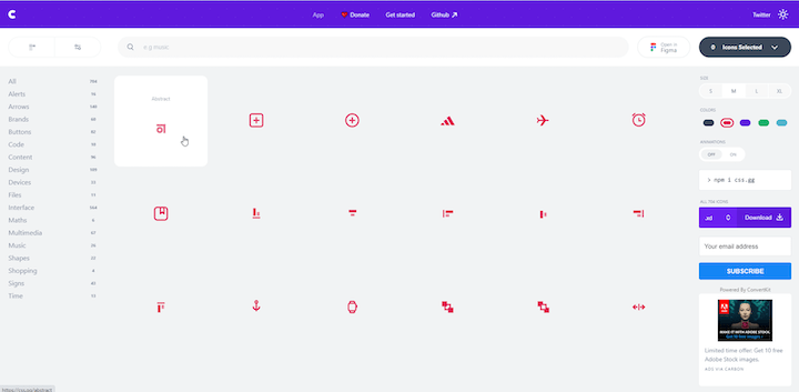 Playing With css.gg Icons