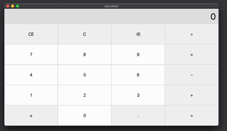 Our Functional Calculator App