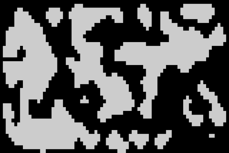 A picture of a cellular automata generator.