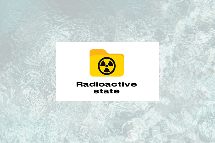 Getting started with radioactive state in React