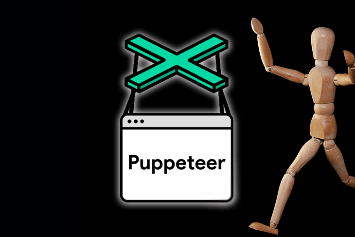 Puppeteer automated UI testing website scraping