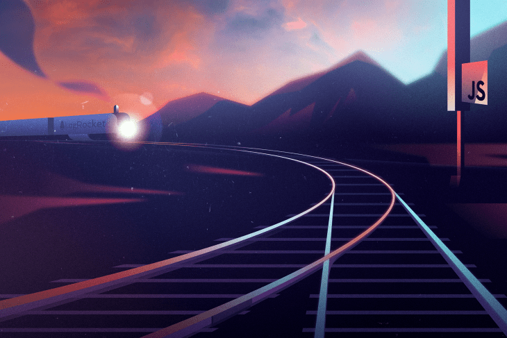 An illustration of a railway.