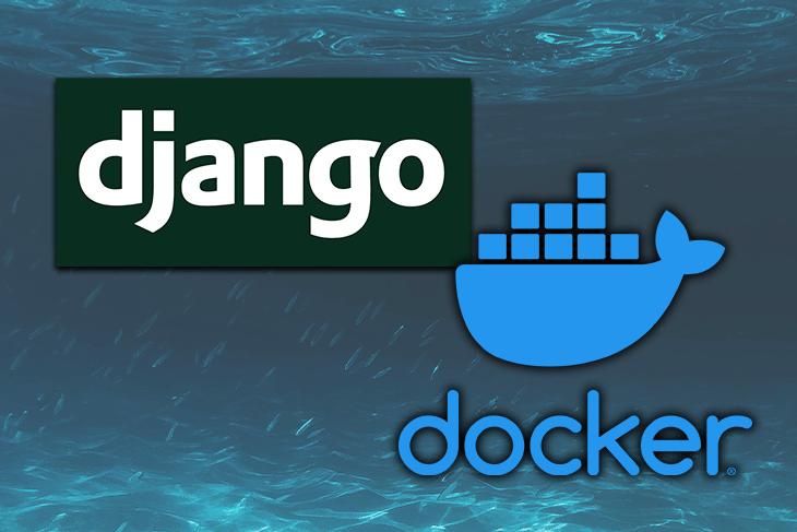 The Docker and Django Logos