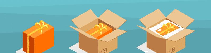 embalagem no e-commerce